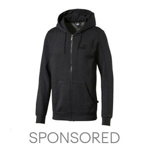 PUMA Essentials+ Men's Fleece Hooded Jacket Men Sweat Basics