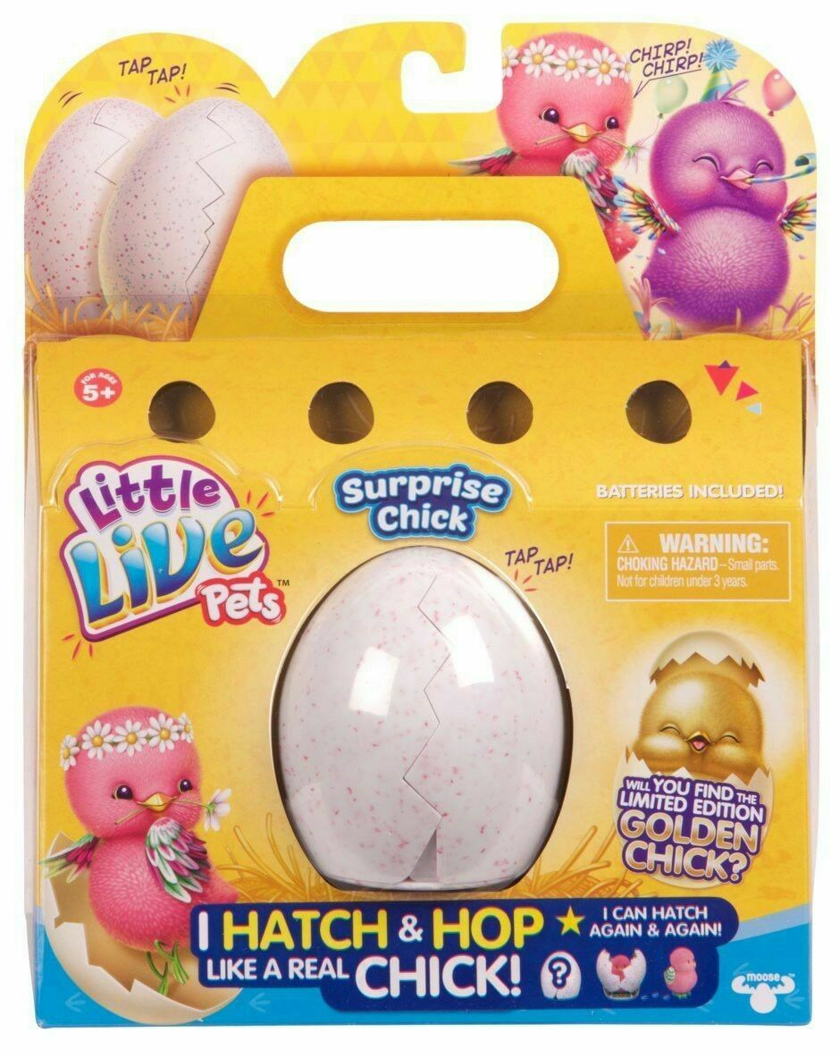Little Live Pets Surprise Chick For Ages 5 Years Moose Toys 28361