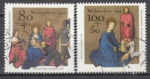BRD 1994 Mi. Nr. 1770-1771 Gestempelt LUXUS!!!
