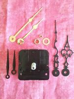 Long Shaft Battery Clock Movement - Diy - Comes With 3 Pairs Of Hands (986a)