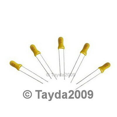 10 x 22uF 16V Radial Tantalum Capacitor - FREE SHIPPING