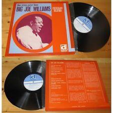 BIG JOE WILLIAMS-Nine string guitar blues LP Blues