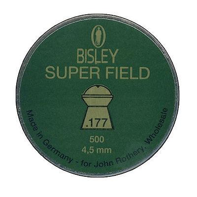 4.5mm Superfield Air Gun Rifle Pellets Sample Packs /& Full Tin Bisley .177
