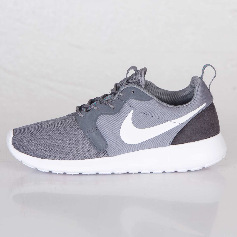 NEW 10 Nike Rosherun Roshe Hyperfuse Hyp Hyp Hyp Gray blanc Anthracite Hommes 636220-001 ee236c