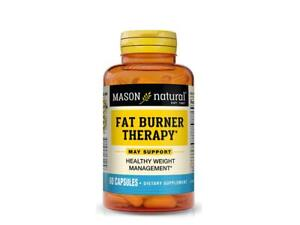 60 CAPSULES FAT BURNER THERAPY CHROMIUM PICOLINATE L-carnitine weight management