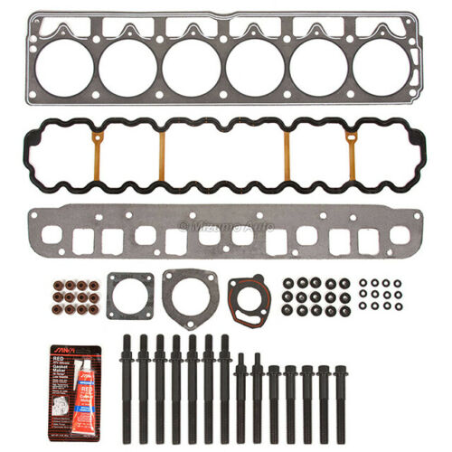Head Gasket Bolts Set Fit 99-03 Jeep Grand Cherokee TJ Wrangler 4.0 12V VIN S V