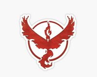 Pokemon Go - Team Valor Red Sticker Decal Car Laptop