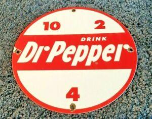 VINTAGE-DR-PEPPER-PORCELAIN-GAS-SODA-BEVERAGE-BOTTLES-COCA-COLA-PEPSI-SIGN