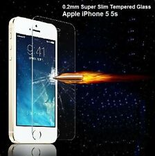 Apple iPhone 5 5s TEMPERED GLASS UltraSlim 0.2mm Curve Edge Screen Protector