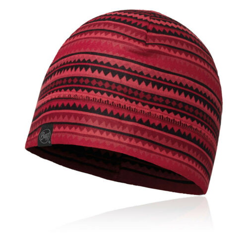 Buff Unisex Polar Fleece Hat Cap Red Sports Outdoors Breathable Lightweight