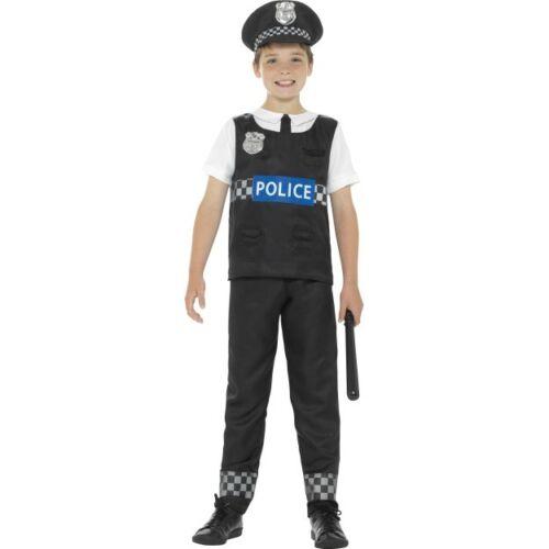 Boys Police Officer Costume Childs Cop PC Fancy Dress Book Week Uniform New