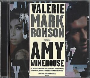 Mark-Ronson-feat-Amy-Winehouse-Valerie-New-2-track-sinlge-CD-2008-NOUVEAU