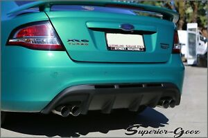 Ford-FG-Falcon-XR6-XR8-G6-Plastic-Rear-Bumper-Diffuser-With-Twin-Exhaust-outlet