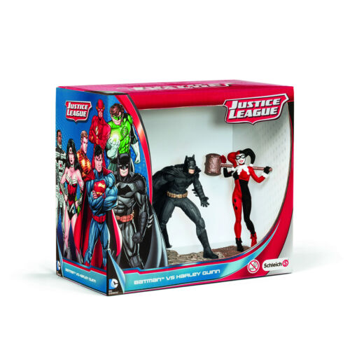 BATMAN vs Harley Quinn PVC FIGURINA 2 Pack nuovo con scatola Schleich