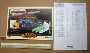 AgréAble 1981 Paiitoy Mainline Railways H0 Gauge Catalogue With Price List (r145) Distinctive Pour Ses PropriéTéS Traditionnelles
