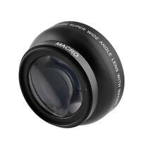 52MM 0.45X Wide Angle Lens Macro for Nikon D5000 D5100 D7000 D3100 D3200 D90