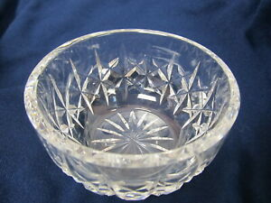 WATERFORD-CUT-CRYSTAL-SM-BOWL-OPEN-SUGAR-3-7-8-W-XLNT-COND