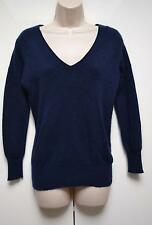 Barrow & Grove Jumper Sweater Pullover Pure 100% Cashmere UK 12 / EU 40 Blue