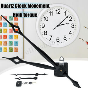 DIY-High-Torque-Quartz-Clock-Mechanism-Kit-W-Large-Hour-Minute-Hand-Fitting-New