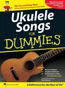 100% Vrai Ukulele Songs For Dummies-ukulélé Livre Neuf 000701718-afficher Le Titre D'origine