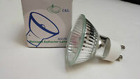 (40) Gu10+c 120v 35w Gu10 Base Halogen Light Bulbs (new)