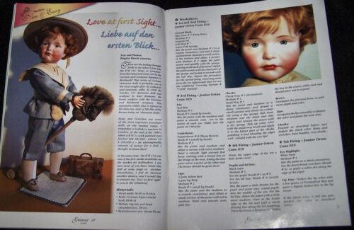 Knitting,Picolettes Gildebrief 4-2004 Vintage /& Antique Doll Dress Patterns