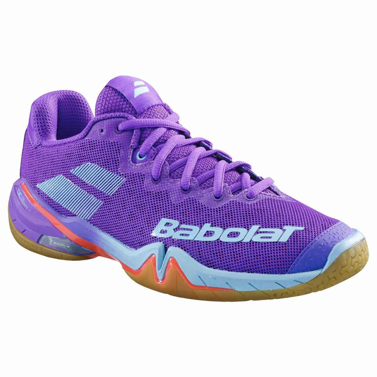 BABOLAT Shadow Tour Damen Sport Hallen Badminton Schuh Topmodell lila 2019 -NEU-