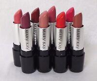 Mary Kay's Gel Semi-matte Lipstick - 8 Beautiful Shades