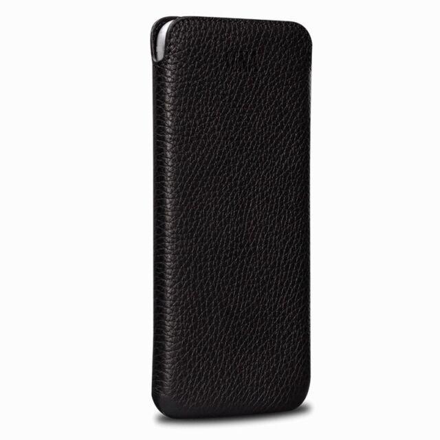 the best attitude 9a471 26fc4 Sena Ultraslim Classic Genuine Leather Sleeve Case for Apple iPhone X -  Black