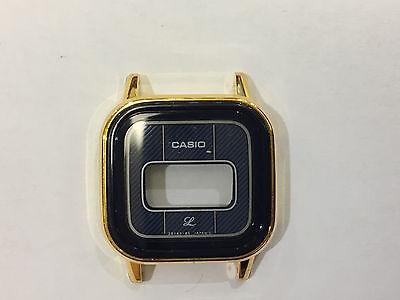 Plastic armed glass gold ring Vetro armato dorato n° 328 diametro 32.8mm NOS