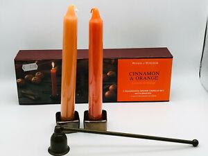 Kerze woods of windsor Cinnamon Orange Zimt Bougie Candle Parfume