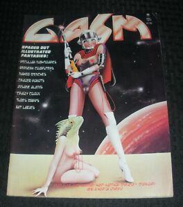 1977-GASM-Sci-Fi-Comix-Magazine-2-FVF-7-0-Kiss-Love-Gun-Ad