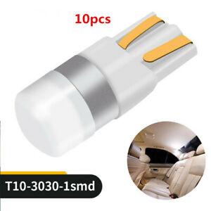 10X-Interior-12-24V-Reading-Bulb-3D-Ceramic-T10-LED-W5W-3030-SMD-Car-Width-Light