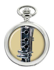 Klarinette-Taschenuhr