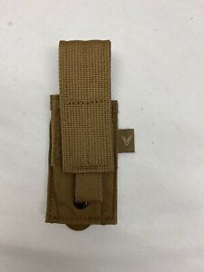 Mayflower Velocity Helium Whisper Single Pistol Mag Pouch Coyote Multitool