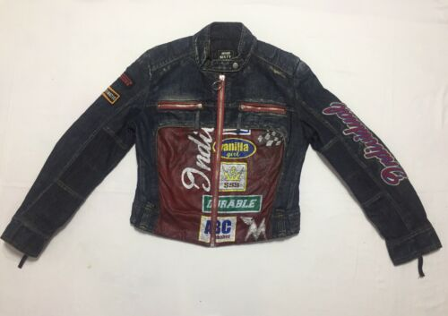 Miss Sixty Jeans Jacket Motorcycle