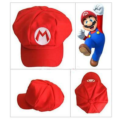 Super Mario Bros Hat Cap Luigi Wario Waluigi Cosplay Game character Cartoon