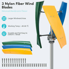 400w Wind Power Turbine Generator Maglev Generator Withcharge Controller Us