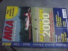 $$v Revue MRA N°728 Plan encarte Inversion  Ferte Alais  Zero  JetCat P80  Foka