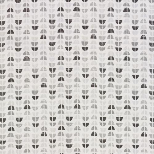 Odense gris Scandinave Toile Cirée Facile à Nettoyer Nappe échantillons disponible
