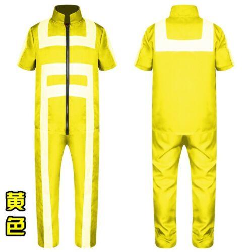 My Hero Academia Katsuki Bakugo Kacchan Tenya Iida School gym Cosplay Costume