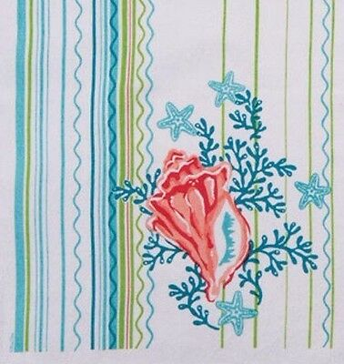 Kay Dee Designs Conch Shell Kitchen Towel Nautical
