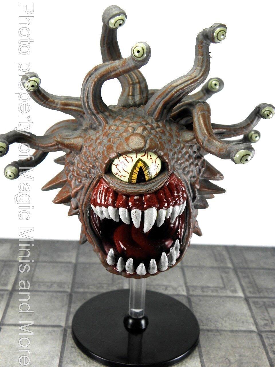 Rabia de demonios  Beholder  49 iconos de los reinos D&D grandes Raro En Miniatura
