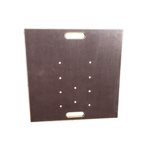 GT Stage traverses Base Plate 740x740x30mm for 29cm 3+4 point and except centered