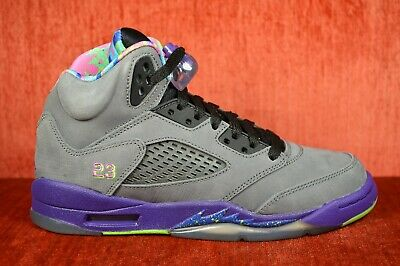low priced ff6d8 544f3 WORN ONCE Nike Air Jordan 5 Retro GS Bel Air Size 4.5Y Bred Youth  621959-090 | eBay