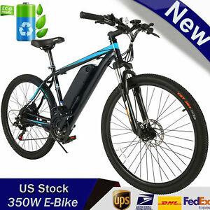"""500W 26"""" Electric Bike Mountain Bicycle City Ebike 48V 10Ah Li-Battery Bikes"""