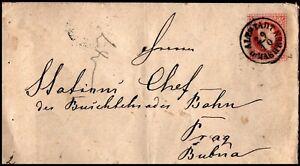 Austria-1875-Preprinted-Postal-Stationary-Envelope-5Kr-Hannsdorf-on-Rear