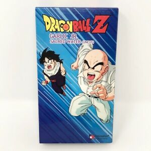 Dragonball Z Sacred Water Uncut Vhs Garlic Jr Saga Dbz Anime Toriyama Funimation 704400021633 Ebay Garlic jr., der skrupellose und unsterbliche schurke, der vor jahren den posten von gott haben wollte dragon ball z (1992). ebay