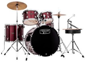 MAPEX-TNM5044TCDR-Tornado-Folie-Schlagzeug