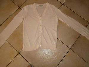 Gilet-Marque-H-amp-m-Taille-M-Rose-Pale